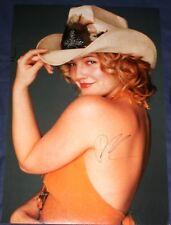 [1108] Drew Barrymore Signed 18x12 Photo AFTAL