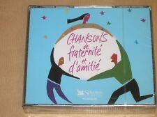 BOITIER 5 CD RARE / CHANSONS DE FRATERNITE ET D'AMITIE / READER'S DIGEST / NEUF
