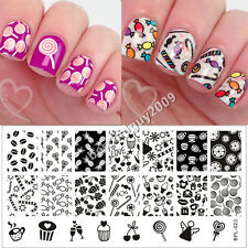 BORN PRETTY Nail Art Stamping Plate Cute Candy Image Stamp Template BP-L023