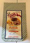 """Vintage feed sack flour sack, open .No Holes Rips Or Fading. 1930""""s 1940's Era"""