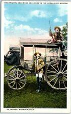 Golden, Colorado Postcard BUFFALO BILL MUSEUM Lookout Mountain c1930s Unused