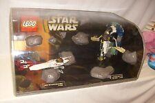RARE EARLY VAC FORM LEGO STAR WARS  STORE DISPLAY JANGO SHIP 7153 & 7143
