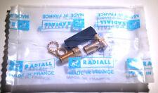 *NEW* Radiall R125-308-000 SMA-F Bulkhead/Panel Connector - RG58 RG141 KX15 etc.