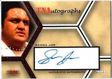 TNA Samoa Joe 2008 Impact Autograph Card RED /25