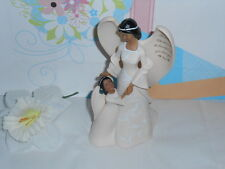 Poly Angel With Child Grandma Thanks For All The Beautiful Ways You Share,,,NEW