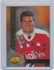 1995 SIGNATURE JIM CAREY AUTO ROOKIE SIGNATURE SP /7750 #44 CAPITALS