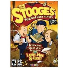 Video Game PC The Three Stooges Treasure Hunt Hijinks hidden object SEALED BOX