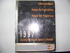 1997 OWNERS MANUAL FOR ALL BIKES
