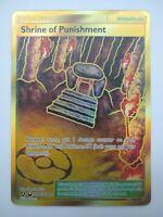 Shrine of Punishment SV90/SV94 Full Art Gold Card Pokemon Hidden Fates MINT
