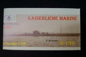 HP Models 1:700  WL   U-Kreuzer   U-139 der Kaiserlichen Marine -1918-
