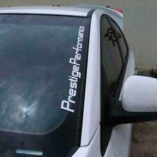 Car Prestige Performance Hellaflush Windshield Vinyl Car Decal SLIVER Stick B4U6