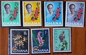 GHANA,Flowers [7]stamps