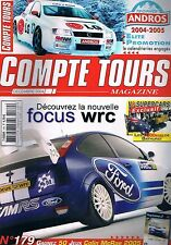 Compte Tours Magazine   N°179   Dec 2004 : Focus wrc