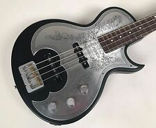 Zemaitis Antanus Series Metal Front Black Bass (A22B MF BK) with Hardshell Case