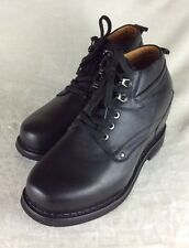 """New TOTO X4101 4.8"""" Taller Height Increasing Elevator Black Shoes Boots Men's 10"""