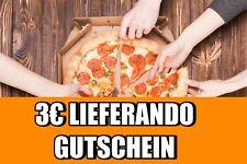 3€ LIEFERANDO GUTSCHEIN - 24/7 SOFORTVERSAND