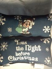 Disney Sleigh Pillow Tapestry Throw Pillow Words Afghan Pillow