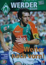 Programm 2005/06 SV Werder Bremen - Mönchengladbach