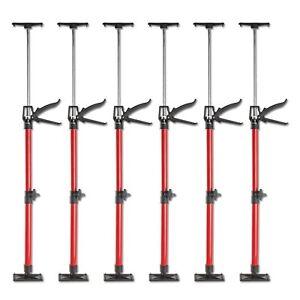 6x Türspanner Türfutterstrebe Türspreize 50-115cm Tür Zargenspanner 30kg Metall