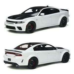 1/18 GT Spirit Dodge Charger SRT Hellcar Dedeye White 2021 Précommande Juillet