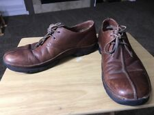 Polo Ralph Lauren Leather/ SUEDE Brown/Almond driving Shoe Size 12D Mens Shoes