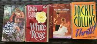 Lot 4 Romance Books Jackie Collins Linda Ladd Maureen Child Mary Lide Paperback