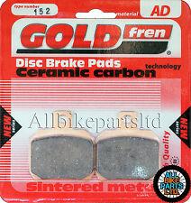DUCATI 1000 DS MULTISTRADA > SINTERED REAR BRAKE PADS *GOLDFREN 152 (FA266HH)