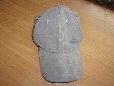 Adidas Originals Silver Grey mens adjustable baseball cap one size