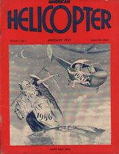 1947 January American Helicopter - Vintage Magazine