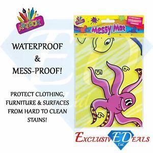 Waterproof Messy Mat Splash Art Children Kids Craft Play Paint Large Table Cover