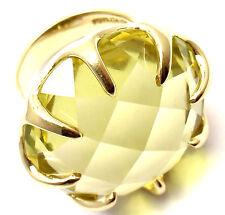 Authentic! Ippolita Lollipop 18k Yellow Gold Extra Large Lemon Citrine Ring