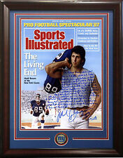 Mark Bavaro signed 16x20 Story SI Cover photo framed Giants coin auto Steiner