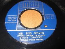 Bruce Channel: Mr. Bus Driver / It's Me 45