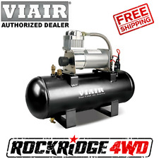 VIAIR 2.0 GAL TANK AIR SOURCE KIT HIGH FLOW 150PSI 12V 150 PSI COMPRESSOR 20005