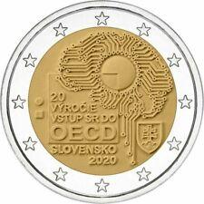 SPECIALE 2 EURO SLOWAKIJE 2020  20 JAAR OECD  BIJ JOHN