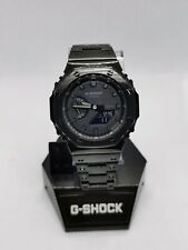 Nueva marca Casio G Shock GA-2100-1A1ER Con Negro Bisel Y Pulsera Estilo AP