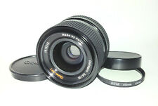 Rollei-HFT Distagon 35mm f/2.8 Fast Wide Angle Prime Lens ⌀49 - QBM Mount