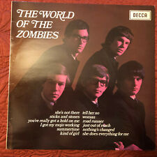 The World Of The Zombies - UK Decca - Amazing Condition