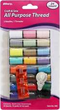 Allary All Purpose Thread 10yds 24/Pkg Assorted Colors 750557004081