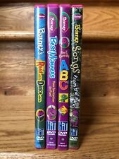 Barney DVD Lot of 4