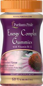 Puritan's Pride Energy Complex Gummies with Vitamin B-12 x 60