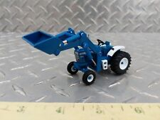 1/64 ERTL custom high detail spec cast Ford 9600 tractor loader farm toy s scale
