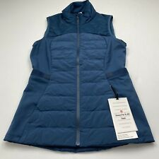 Lululemon Down For It All Vest NIDI Night Diver Size 6 New