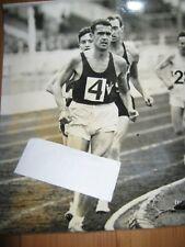 Ron Clarke 1965 Original Press Photo Australian Runner New World Record London