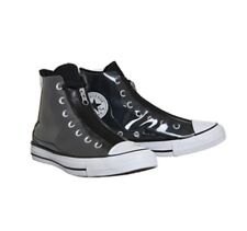 Converse - Ctas Shroud Hi - BLACK WHITE TRANSLUCENT RUBBER size 7 uk