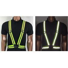 GOGO Adult Reflective Vest Safety Belt High Visibility Outdoors Elastic Band