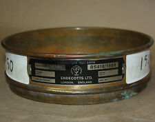Endecotts Brass Stainless Steel Lab Test Sieve 200SIW.150 150 Mic.