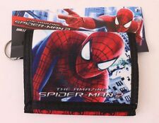 New Marvel Spider-man Black/Red Boys & Girls Tri-fold Wallet NWT