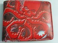HYDRA RED SKULL AGENTS OF SHIELD ! bi fold wallet Marvel Comics US Seller