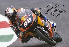 Karel hanika mano firmado Red Bull KTM Ajo 12x8 Foto 2014 Moto3 1.